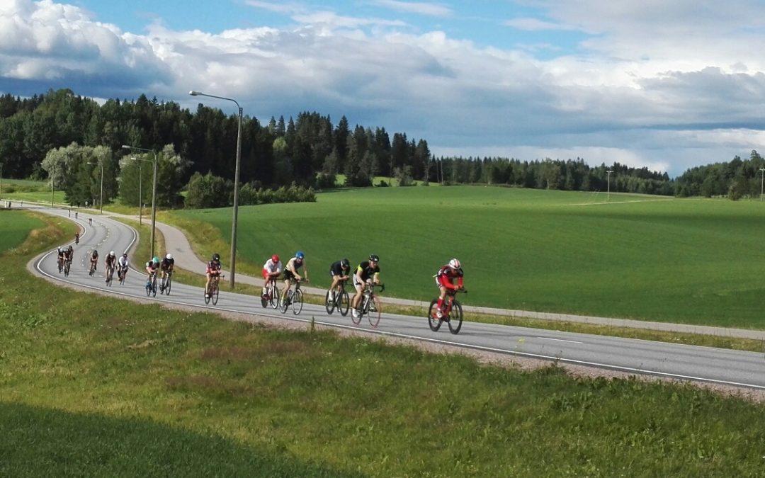 Triathlontapahtuma IRONMAN 70.3 Finland 3.7.2021