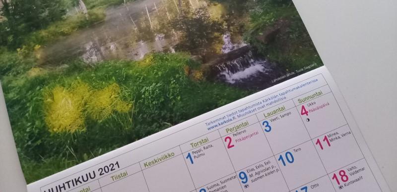 Kuvia vuoden 2022 kalenteriin