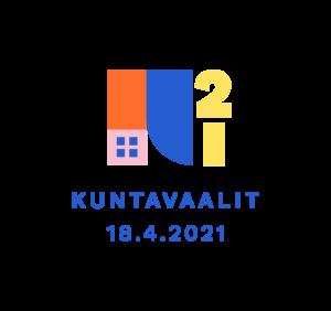 Kuvan kuntavaalien 2021 logosta