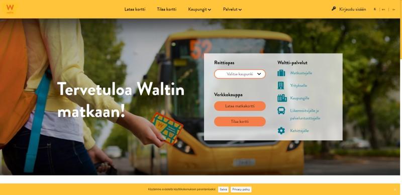 Waltti Mobiili lanseerataan Liikkujan viikon alennuskampanjalla