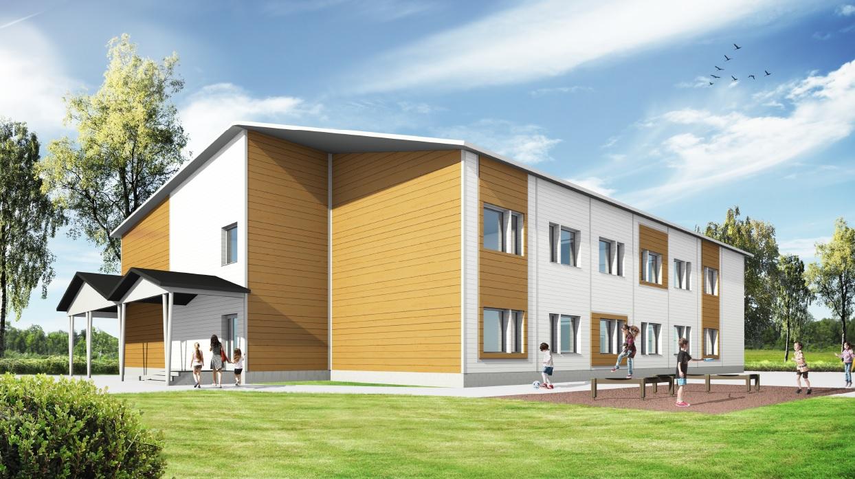 Uusi koulurakennus käyttöön elokuussa