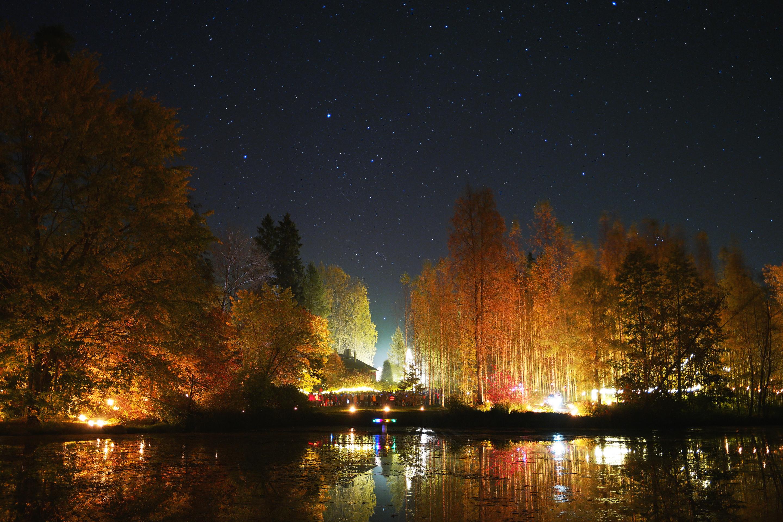 Valon ja musiikin ilta