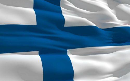 Kuva Suomen lipusta