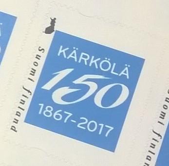 Kärkölä 150 -juhlapostimerkki