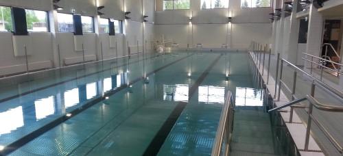 Kuva Kärkölän uimahallin altaasta